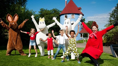 © Moomin Characters™ Theme park created by Dennis Livson