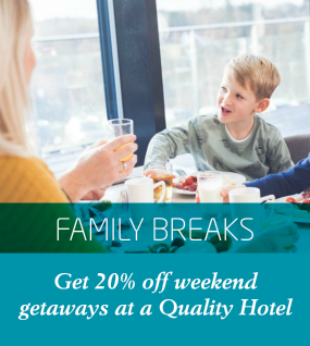 Quality Hotel 20% deal