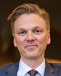 Fredric Landell, CEO på Nordic Property Management