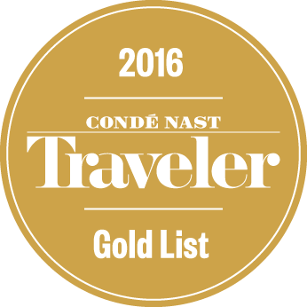 Conde Nast Gold List 2016