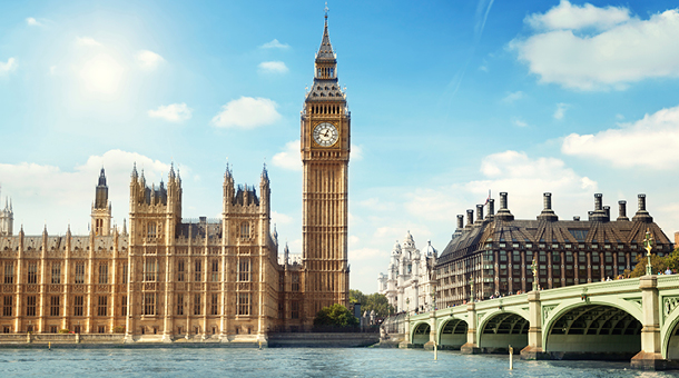 View of Big Ben and the Parliament