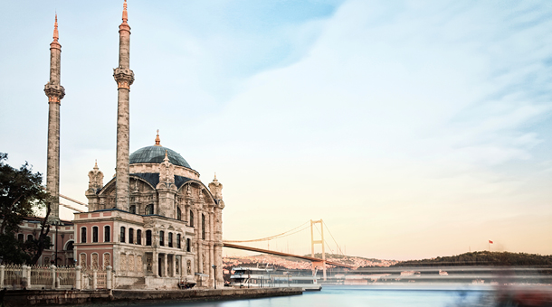Waterfront in Istanbul, Turkey